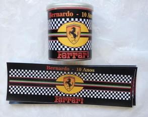 R�tulo Batata Pringles: Ferrari
