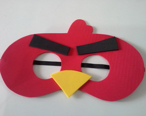 mascara-red-angry-birds-red-angry-birds