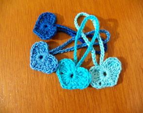 Cora��o em crochet