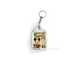 Chaveiro Mickey Safari