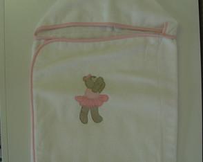 (TO 0006) Toalha de banho ursa