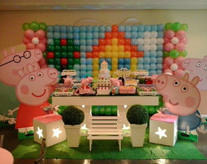 Decora��o clean Peppa Pig