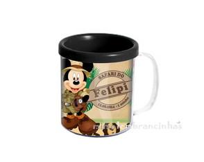 Caneca Mickey Safari