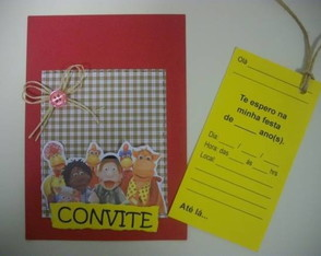convite-scrapbook-turma-do-cocorico