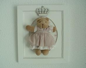 (MA 0184) Quadro maternidade ursa