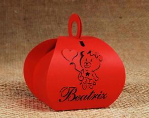 Caixa Bem Nascidos Ursinha com Bal�o -1