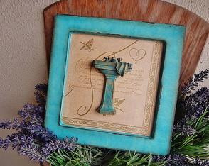 Placa para Toilette Sink