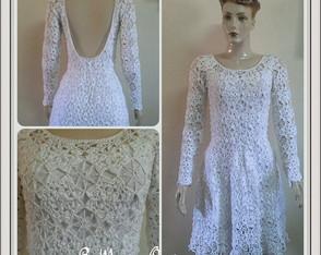 Vestido Crochet VENDIDO