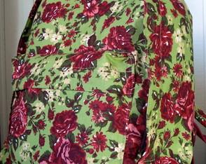 Mochila Floral Pistache