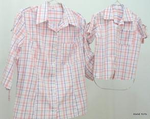 Camisas M�e/filho N�44,3