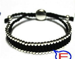 Friendship Pulseira Tubos Metal -Unisex