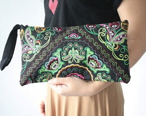 Clutch Tribal Borboletas Boho-Chic