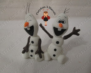 LEMBRAN�INHA OLAF FROZEN BISCUIT