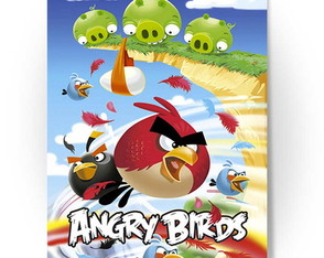 Banner Decorativo P/ Festa - Angry Birds
