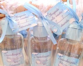 Lembrancinha maternidade - �lcool em gel