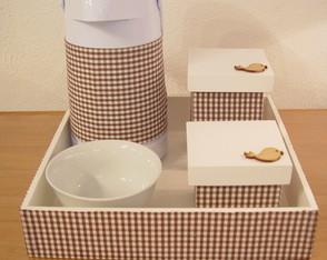 (KT 0066) Kit higiene passarinho