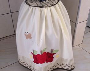 Capa para botij�o de g�s Ma��s e Flores
