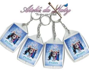 Chaveiro Personalizado - Frozen