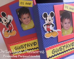 album-de-fotos-e-caixa-mickey-mini-album-de-fotos-decorado