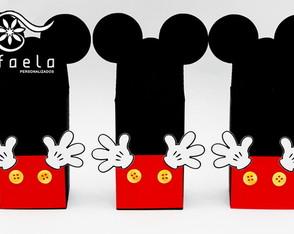 Caixa Leite Mickey e Minnie