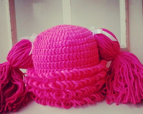 Touca Boneca Pink