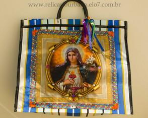 Sacola Santa - Cora��o de Maria