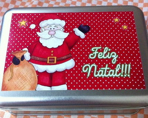 Lata retangular - Natal