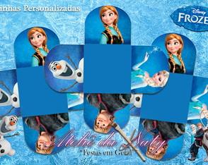 """Forminhas Personalizadas - """"Frozen"""""""