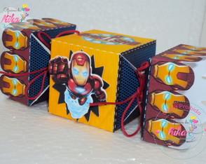 Caixa Bala Homem de Ferro