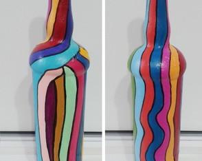 Garrafas Recicladas Color