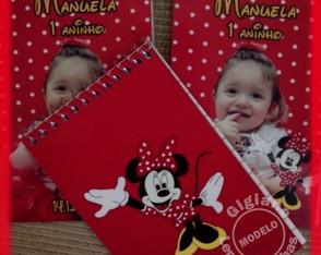 Caderninho Personalizado Minnie