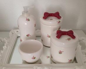 Kit Floral Vinho