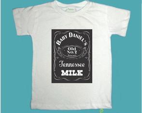 "T-Shirt Beb� e Infantil ""BABY DANIEL'S"""