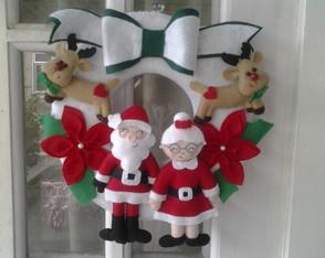 Guirlanda casal Noel