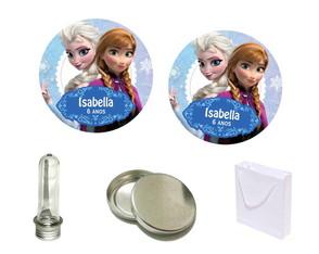 Adesivos 5x5cm Frozen Disney