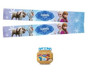 Adesivos Papinha Frozen Disney