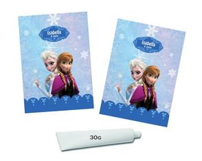 Adesivos Bisnaga Frozen Disney