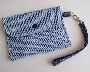 Mini carteira com alcinha