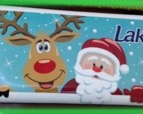 Chocolate Personalizado de Natal