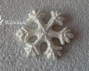c�d 550 molde de flocos de neve