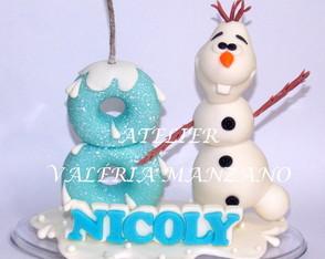 TOPO DE BOLO DO OLAF