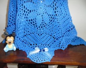Manta para Beb� Azul Royal