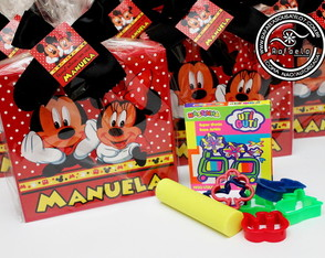 Kit Luxo Massinha Mickey e Minnie