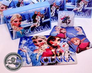 Kit Luxo Passatempo Frozen