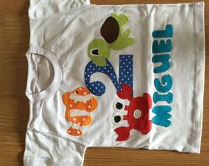 Camiseta Fundo do Mar