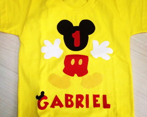 Body Ou Camiseta Mickey