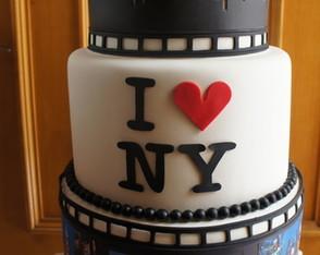 Bolo I Love New York - Aluguel