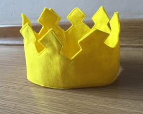 Coroa feltro pr�ncipe