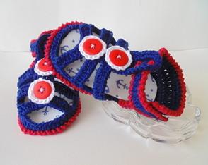 Sandalinha Azul- Menino