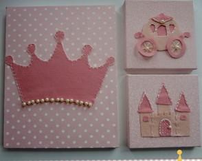 Kit quadro Princesa